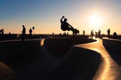 Carta da parati Andare con lo skateboard