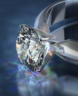 Carta da parati Anello di diamante