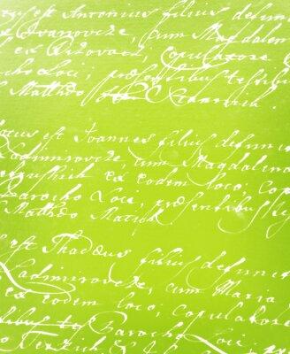Carta da parati annata lettera scritta a mano