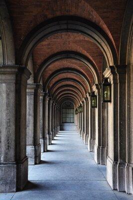 Carta da parati architettura arco