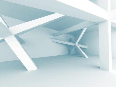 Carta da parati Architettura di sfondo astratto. Struttura di costruzione