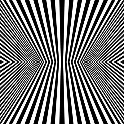 Carta da parati Arte ottica Rhombus Seamless Pattern
