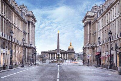 Carta da parati Assemblée nationale et Place de la Concorde