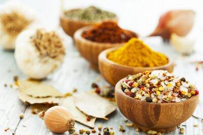 Carta da parati Assorted spices