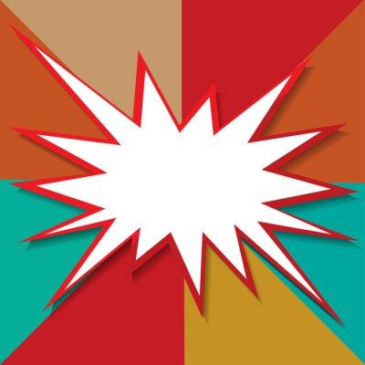 Carta da parati asta icona illustrazione vettoriale