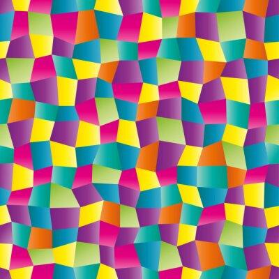 Carta da parati Astratto colore disegno geometrico