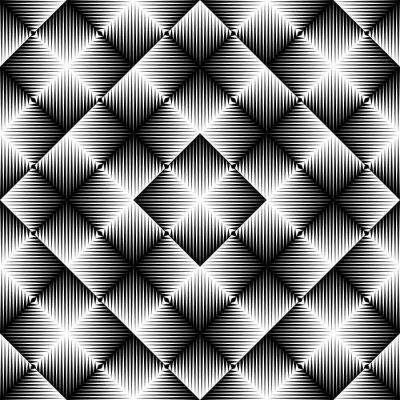 Carta da parati Astratto Quadrato Sfondo. Modello Geometrico Seamless