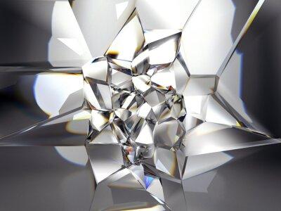 Carta da parati astratto sfondo chiaro cristallo