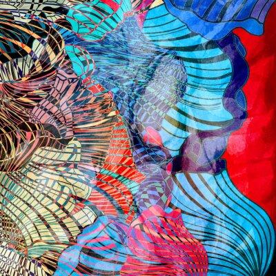 Carta da parati astratto sfondo colorato