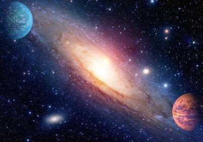 Carta da parati Astrologia astronomia spazio esterno big bang di creazione del sistema solare pianeta galassia. Elementi di questa immagine fornita dalla NASA.