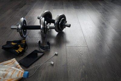 Carta da parati attrezzature per il fitness