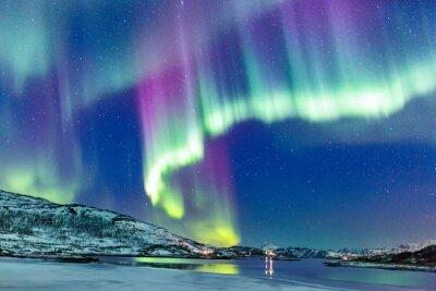 Carta da parati Aurora boreale