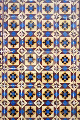 Carta Da Parati Azulejos, Piastrelle Portoghesi