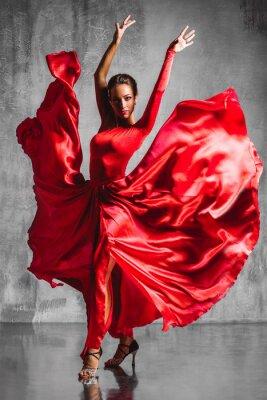 Carta da parati ballerina di flamenco