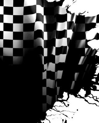 Carta da parati bandiera a scacchi