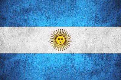 Carta da parati bandiera dell'Argentina