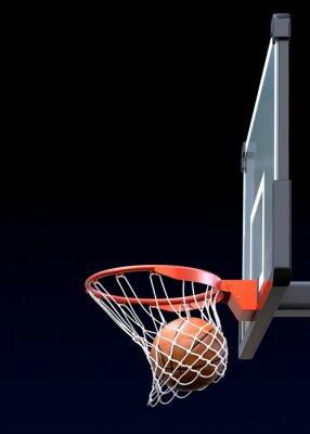 Carta da parati Basket colpo