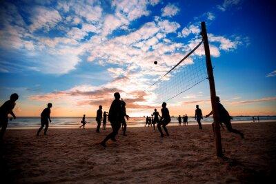 Carta da parati Beach volley