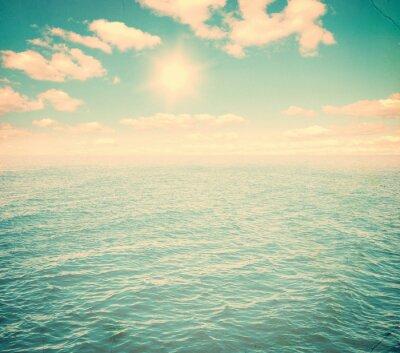 Carta da parati Bel cielo e mare blu