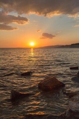 Carta da parati bel tramonto nel Sud