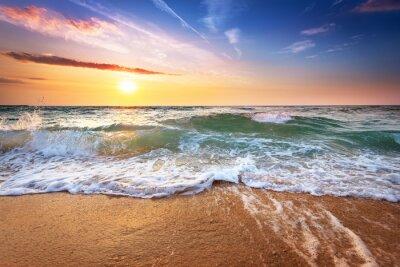 Carta da parati Bel tramonto sul mare.