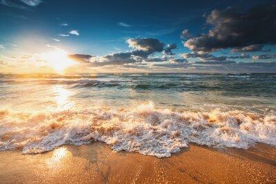 Carta da parati Bella alba sul mare