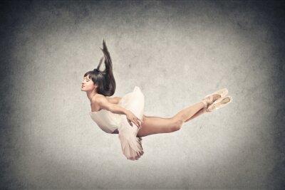 Carta da parati bella ballerina