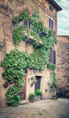 Carta da parati Bella via di Montisi, Toscana