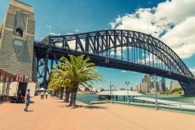 Carta da parati Bella vista di Sydney Harbour Bridge