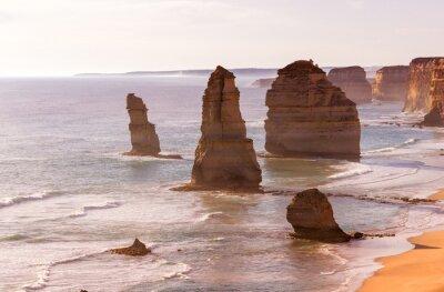 Carta da parati Bella vista tramonto a costa del Dodici Apostoli da Great Ocean