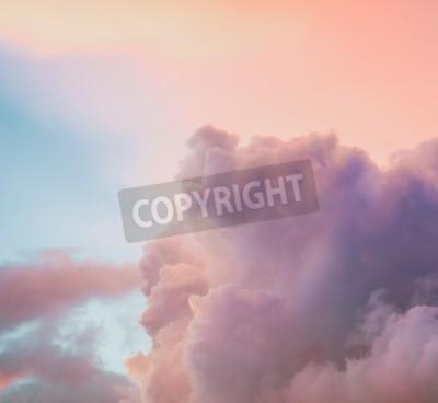 Carta da parati Bellissimo sfondo di cielo nuvoloso