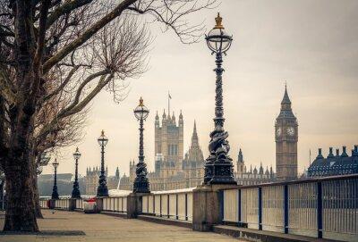 Carta da parati Big Ben and Houses of parliament, London