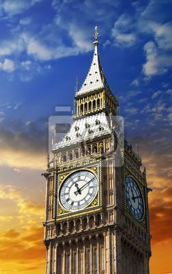 Carta da parati Big Ben, la Torre dell'Orologio a Londra