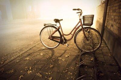 Carta da parati Bike in autunno