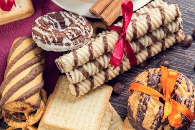 Carta da parati Biscotti sul tavolo