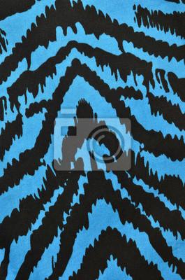 Blu E Nero Motivo Zebrato Animal Print Blu Come Sfondo Carta Da