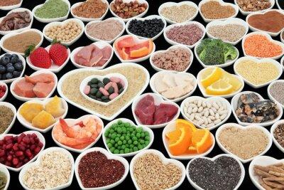 Carta da parati Body Building Health Foods