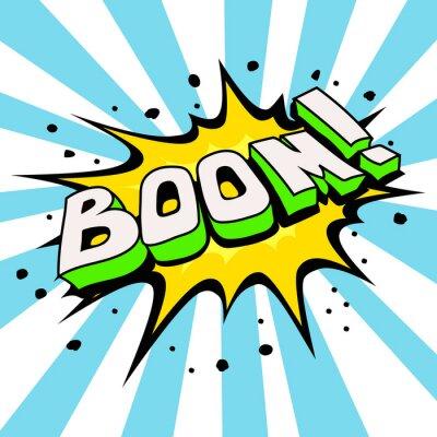 Carta da parati Boom Comic Fumetto, Fumetto