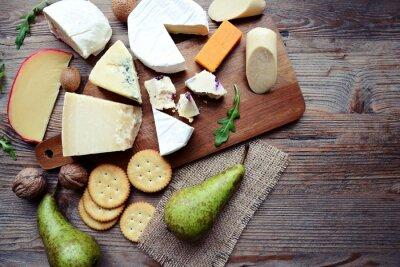 Carta da parati bordo del formaggio