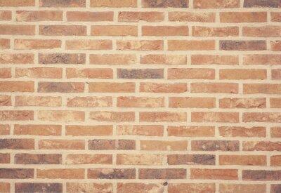 Carta da parati Brown struttura della parete di pietra e mattoni senza soluzione di sfondo.