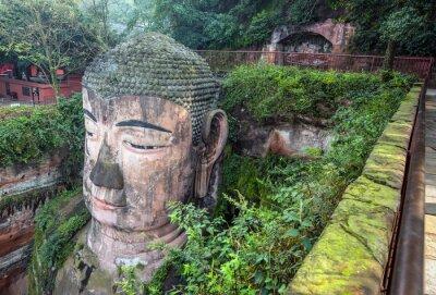 Carta da parati Buddha gigante (Da FO) - Leshan, Sichuan, Cina