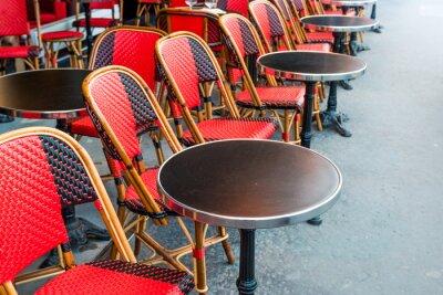 Carta da parati caffè parigino tradizionale