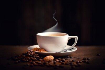 Carta da parati caldo, caffè