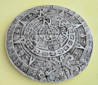 Il Calendario Maya.Carta Da Parati Calendario Maya
