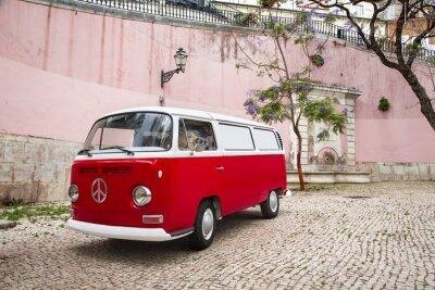 Carta da parati Camping-Car autour du Monde