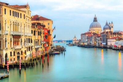 Carta da parati Canal Grande e la Basilica di Santa Maria della Salute, Venezia, Italia