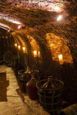 Carta da parati cantina a Velka Trna, Tokaj regione del vino, Slovacchia