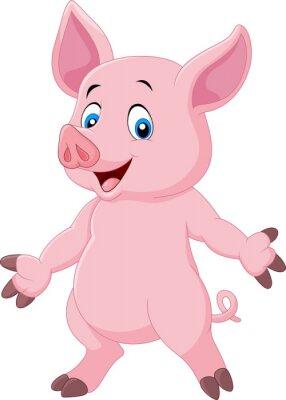 Acquista cartone animato maiale con orecchie spostamento di