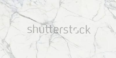 Carta da parati Carrara marble. Marble texture. White stone background