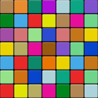 Carta da parati Carrelage Multicolore 1.03